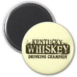 Kentucky Whiskey Drinking Champion Magnets