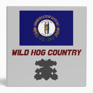Kentucky: Wild Hog Country/ The Bullshark STaTE Binder