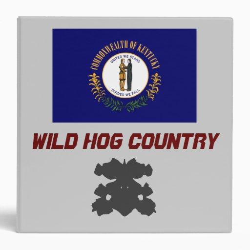 Kentucky: Wild Hog Country/ The Bullshark STaTE Binders