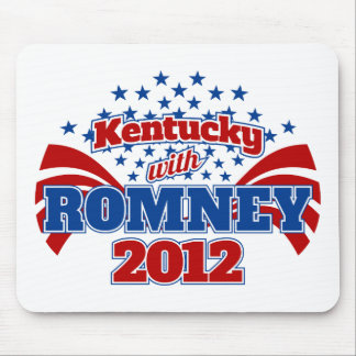 Kentucky with Romney 2012 Mouse Pad