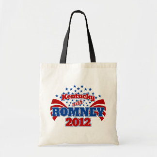Kentucky with Romney 2012 Tote Bag