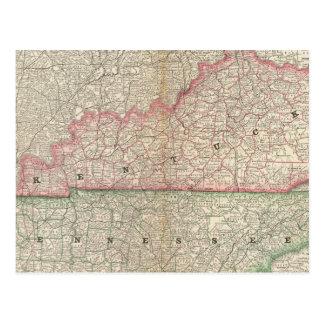 Kentucky y Tennessee 7 Postal