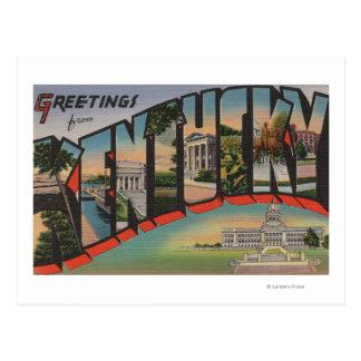 KentuckyLarge Letter ScenesKentucky Postcard