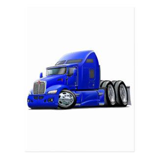 Kenworth 660 Blue Truck Postcard