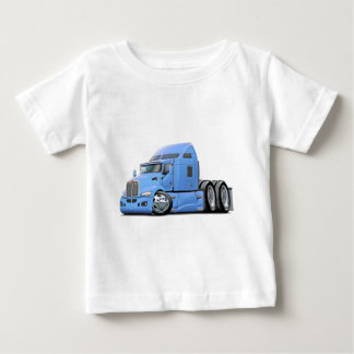 Kenworth 660 Lt Blue Truck Baby T-Shirt