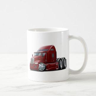 Kenworth 660 Maroon Truck Coffee Mug