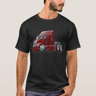 Kenworth 660 Maroon Truck T-Shirt