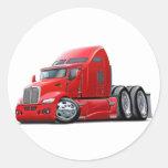 Kenworth 660 Red Truck Sticker