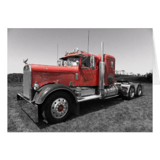 Kenworth Needle Nose Note Card