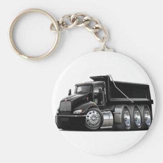 Kenworth T440 Black Truck Keychain