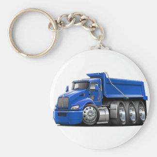 Kenworth T440 Blue Truck Keychain