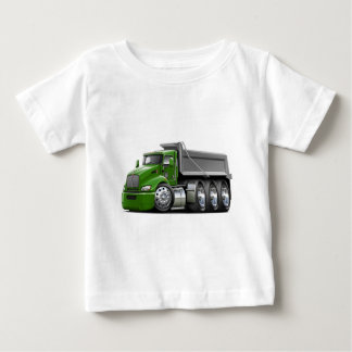 Kenworth T440 Green-Grey Truck Baby T-Shirt