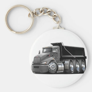 Kenworth T440 Grey-Black Truck Keychain