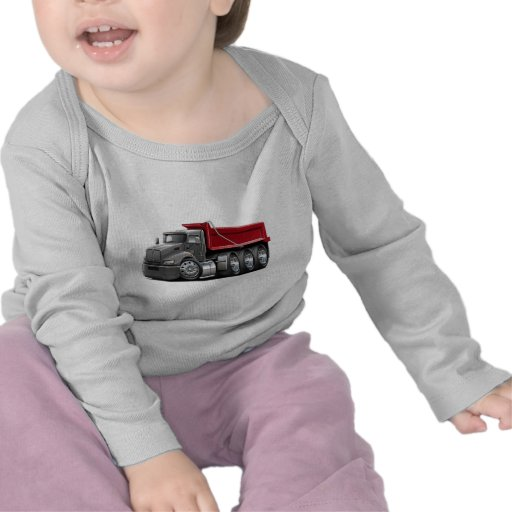 Kenworth T440 Grey-Red Truck Shirts