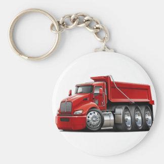 Kenworth T440 Red Truck Keychain
