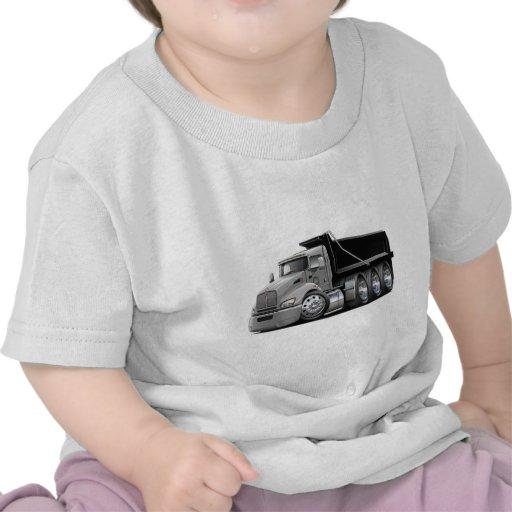 Kenworth T440 Silver-Black Truck Tee Shirt