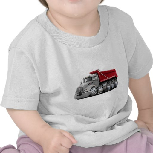 Kenworth T440 Silver-Red Truck T Shirts