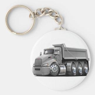 Kenworth T440 Silver Truck Keychain