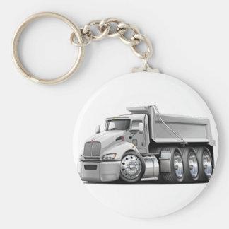 Kenworth T440 White Truck Keychain