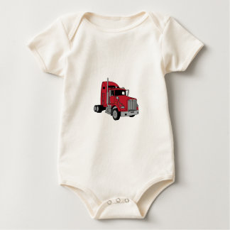 Kenworth Tractor Baby Bodysuit