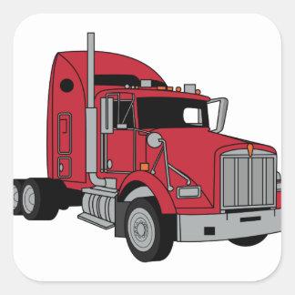 Kenworth Tractor Square Sticker