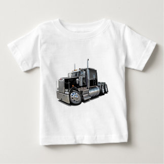 Kenworth w900 Black Truck Baby T-Shirt