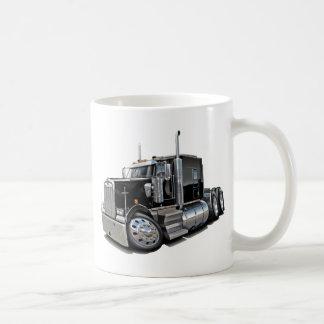 Kenworth w900 Black Truck Coffee Mug