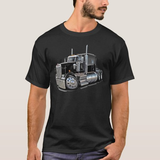 Kenworth w900 Black Truck T-Shirt