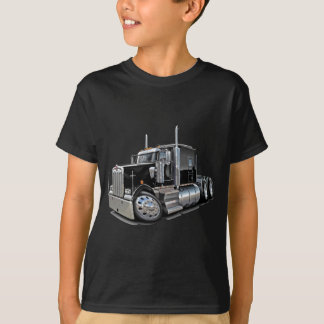 Kenworth w900 Black Truck T-Shirt