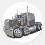 Kenworth w900 Grey Truck Sticker