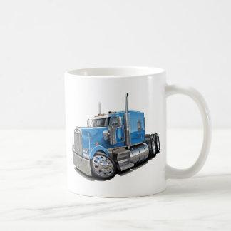Kenworth w900 Lt Blue Truck Coffee Mug