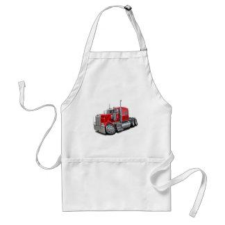 Kenworth w900 Red Truck Adult Apron