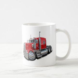 Kenworth w900 Red Truck Coffee Mug