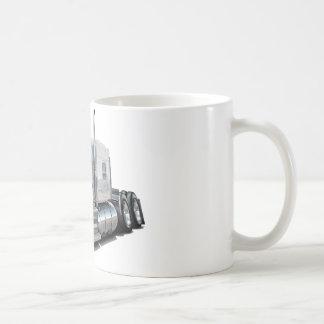 Kenworth w900 White Truck Coffee Mug