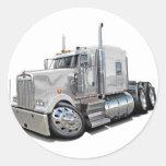 Kenworth w900 White Truck Stickers