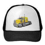 Kenworth w900 Yellow Truck Mesh Hats