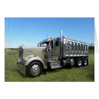 Kenworth W900L Dumper Note Card