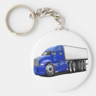 KenworthT700 Blue Truck Keychain