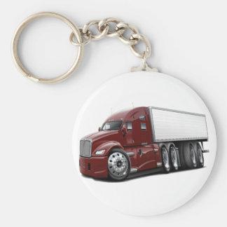 KenworthT700 Maroon Truck.png Keychain