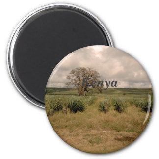 Kenya 2 Inch Round Magnet