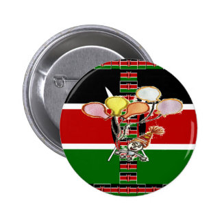 Kenya Birthday 2 Inch Round Button