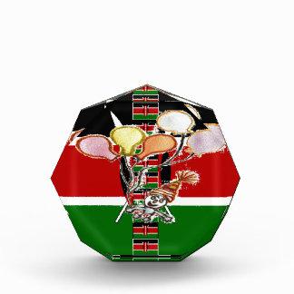 Kenya Birthday Acrylic Award