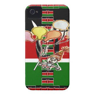 Kenya Birthday iPhone 4 Case