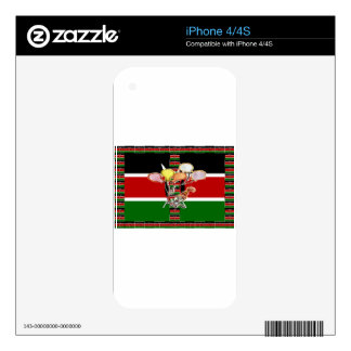 Kenya Birthday Skins For The iPhone 4S