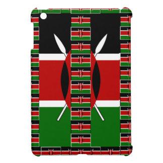 Kenya Black red green iPad Mini Cover