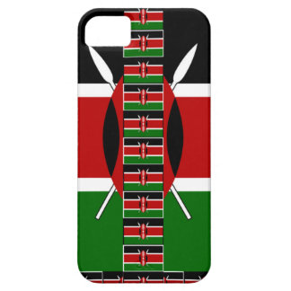 Kenya Black red green iPhone SE/5/5s Case