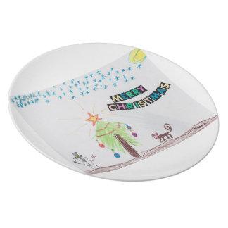 Kenya Christmas Plate
