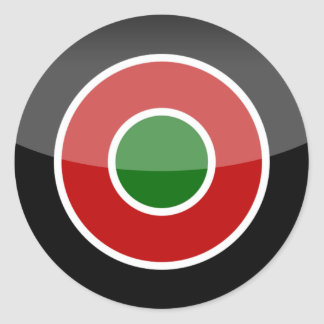 kenya classic round sticker