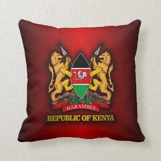 Kenya COA Throw Pillow