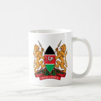 Kenya Coat of Arms detail Coffee Mug